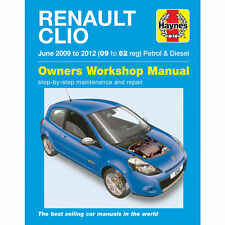 Renault Clio Haynes Manual 2009-12  1.2 1.6 Petrol 1.5 Diesel Workshop Manual