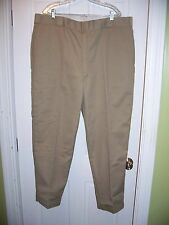 VTG NWT Size 44 W x 30 L Tan Dickies Flannel Lined Winter Wear Pants