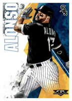 2019 Topps Fire #148 Yonder Alonso Chicago White Sox