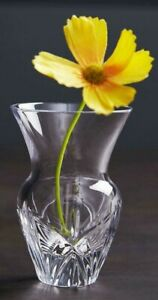 WATERFORD Exclusive Posy Small Vase Flowers Crystal 4inch 12cm x 10cm