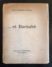 ...et Barnabe by Raoul de Roussy de Sales, Limited Edition, Text in French