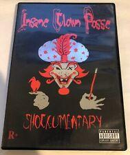 Insane Clown Posse - Shockumentary - DVD PSYCHOPATHIC 1998/2004 ICP RARE OOP