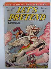 Let's Pretend #2 (Jul-Aug 1950, D.S. Publishing) [VG- 3.5]
