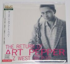 ART PEPPER / The Return Of Art Pepper JAPAN CD Mini LP w/OBI  TOCJ-9312