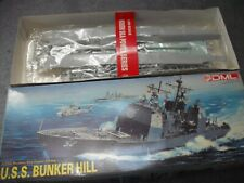 DML DRAGON Model Kit USS Bunker Hill + Photo etched 1:350 scale Mint in box