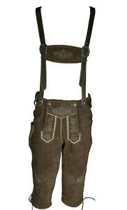LEDERHOSEN Leather Bavarian Shorts Oktoberfest German Traditional costume pants
