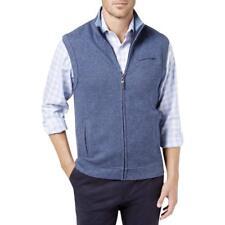 Tasso Elba Mens Full Zip Herringbone Full Zip Sweater , Size:M , MSRP 80 $