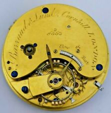 High Quality Barraud & Lunds London Fusee Pocket Watch Movement Working (P71*)