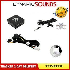 Bluetooth Streaming Handsfree Calls Music AUX MP3 for Toyota Yaris 2005-2011