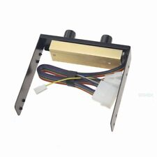 DC 12V 3Pin 4Pin PCW Fan Speed Control Controller For Computer Case Fan