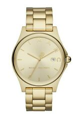 Marc Jacobs Women's Henry MJ3584 Gold Stainless-Steel Japanese Quartz Watch