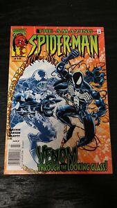 2000 MARVEL COMIC AMAZING SPIDER-MAN #19 NEWSSTAND VF/NM BLACK SUIT VENOM