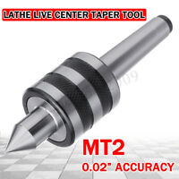 2MT MT2 Long Spindle Triple Bearing Turning Revolving Live Center CNC Milling Ma