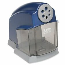 X-ACTO SchoolPro Classroom Electric Pencil Sharpener, Heavy Duty, Blue/Grey New