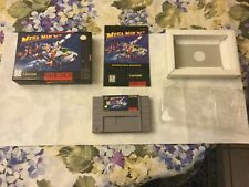 Mega Man X2 for the SNES CIB w/game, cart holder, instruction manual and baggy