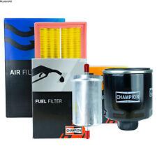 CHAMPION FILTER SET KOMPLETT AUDI 80 CABRIOLET A6 1.6 2.0 E