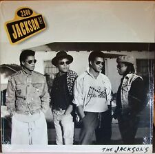 The Jacksons - 2300 Jackson Street - Epic - 1989 - Vinyl - SEALED