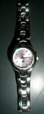 Relic Women's Watch, Pink Face, Stainless Steel, New Battery, runs great NICE!!!