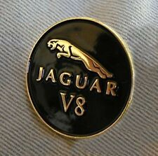 Jaguar Hat, Tie, Lapel Pin Badge, Emblem XJ,XK V8