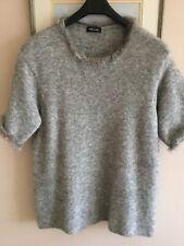Anne Claire fur trimmed jumper size 12/14 UK