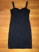 BEBE BLACK SLEEVELESS DRESS SIZE 2