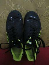 Boys Carbrini football trainers size 1 black