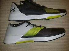 New men's Under Armour Tennis Shoes Size 14 Volt White Black