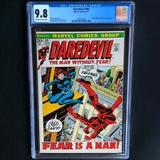 DAREDEVIL #90 (1972) 💥 CGC 9.8 - 1 OF ONLY 23! 💥 Black Widow & Mister Fear App