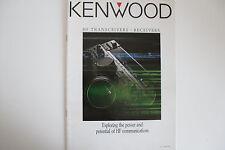 RICETRASMETTITORE HF KENWOOD (solo AUTENTICO catoluge)... RADIO _ Trader _ Irlanda.