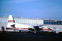 AIRLINE - AIR WEST 1960'S F-27  8x12 Photo #22