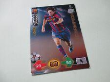 Panini Champions League Super Strikes 2009/2010 Lionel Messi Champion Card