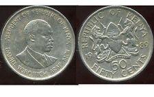 KENYA 50 cent 1989