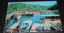 Vintage Postcard Norris Point State Park Staatsburg N.Y. Boating