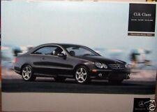 2006 mercedes clk55 amg clk550 owners sales brochure w209 parts service clk350