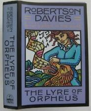 First Edition Robertson Davies Lyre of Orpheus with DJ