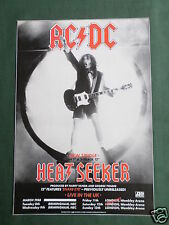 AC/DC - MAGAZINE CLIPPING / CUTTING- 1 PAGE ADVERT-#1