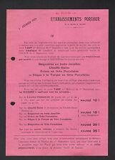"""SAINT-OUEN (93) USINE FONDERIE EMAILLERIE / BAIGNOIRES """"Ets. PORCHER"""" en 1924"""