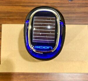06 - 18 Scion TC XB XD XA FR-S NEW LED SOLAR LIGHTED BLUE LEATHER SHIFT KNOB