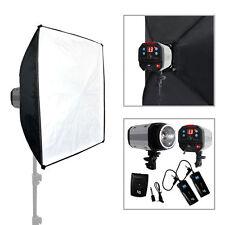 300W Studio Strobe Photo Flash Light Photography SoftBox Continuous Lighting Kit