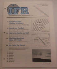 IFR Pilot Magazine Center Radar For Weather Avoidance March 1993 FAL 061815R