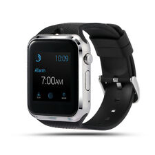Smartwatch con slot per scheda SIM e bluetooth GD19 fotocamera nero/silver