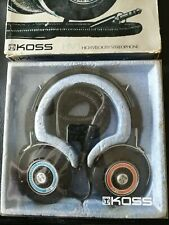 More details for boxed vintage koss hv/1 headphones 1974. very rare! collectable hifi nostalgia!