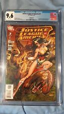 Justice League of America 7 CGC 9.6 Michael Turner Variant 1st Red Arrow Hall of