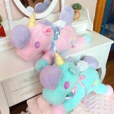 Little Twin Stars unicorn blue plush tissue box holder cover cute Y164