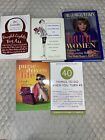 Lot Of 5 Books -Self-Help  For Women Purse Driven Life, Things To Do...40, .....