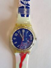 """SWATCH WATCH""""GRUAU"""" VERY RARE NEW COLLECTABLE MINT GK147 GREAT GIFT NIB"""