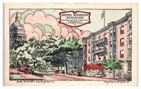 Hotel Winston, Washington, DC Postcard