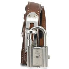 Auth HERMES KELLY WATCH KE1.210 Double Tour Quartz Women's Watch F#92057