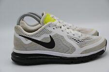 Nike Air Max 2014 Women's Running Shoes White Black Volt 621078-100 Sz 8