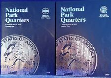 Whitman National Parks Quarters Volume 1 & 2, 2010-2021 Coin Folder Album Book
